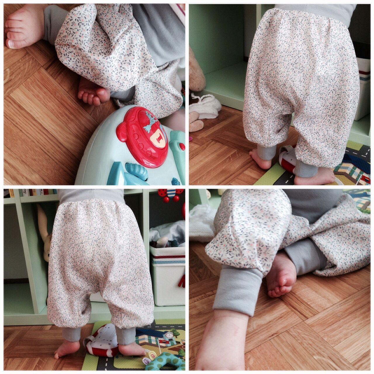 tutoriel sarouel pantalon enfant bebe couture debutant fait main do it  yourself diy