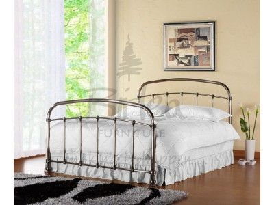 Birlea Warwick Nickel King Size Metal Bed frame | Birlea Warwick ...
