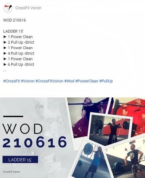 #CrossFit #Voiron #CrossFitVoiron #Wod