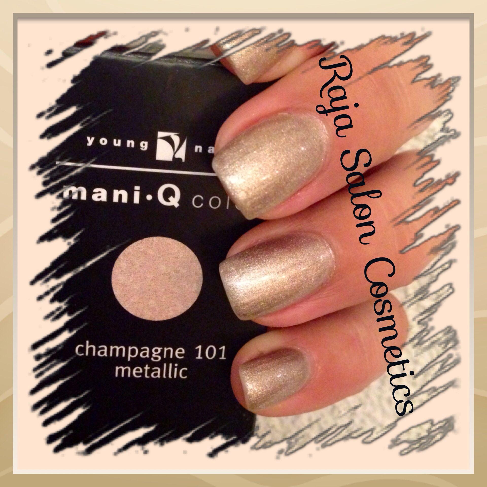 Young Nails Mani-Q color Champagne 101 Www.raja-saloncosmetics.nl ...