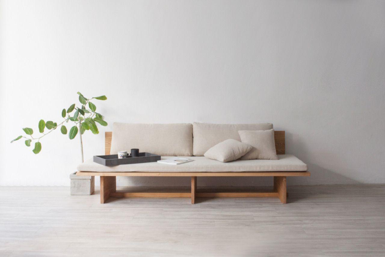 Blank Sofa is a minimal sofa created by South Korea-based designer ...