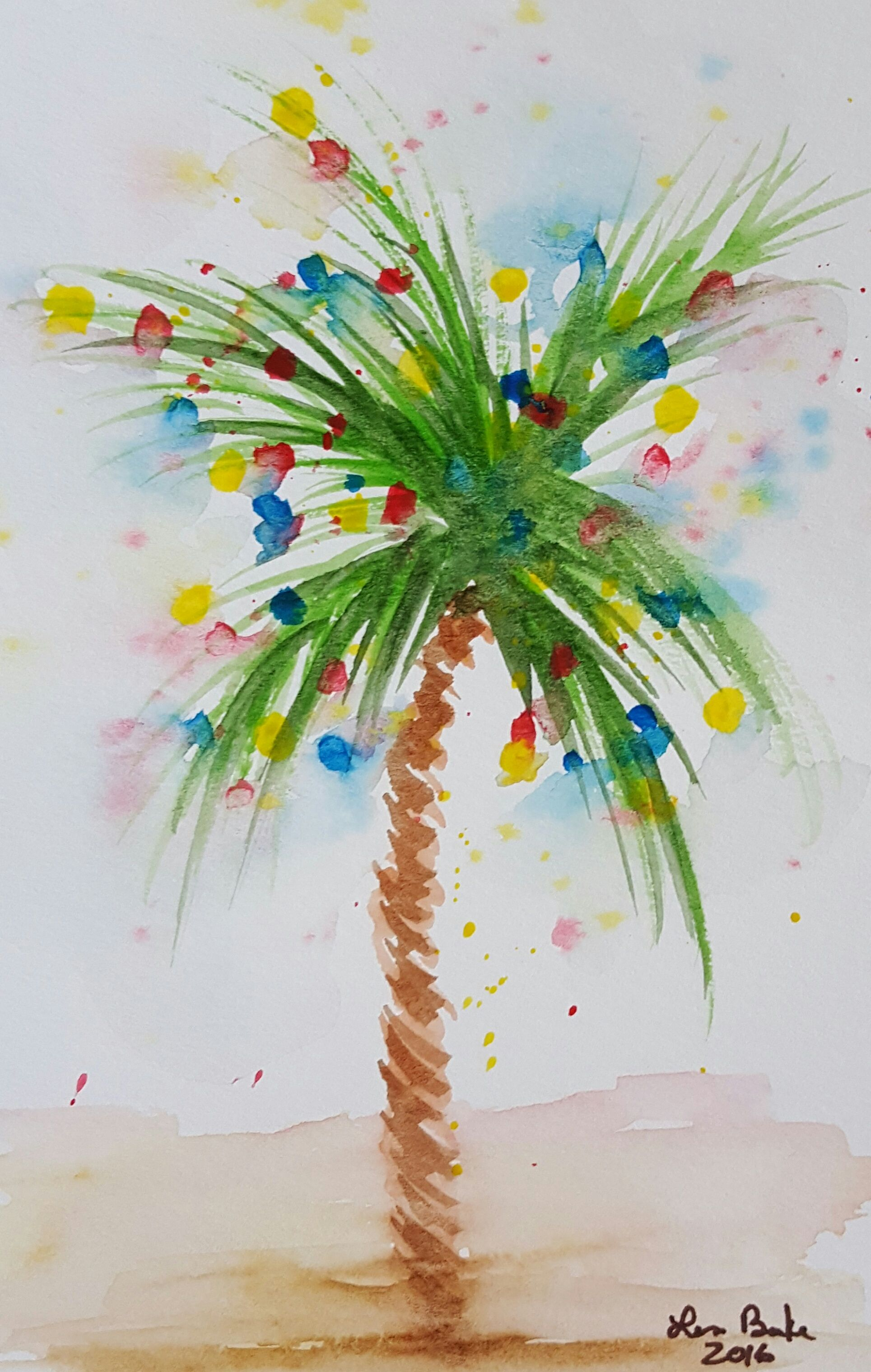 Coastalchristmas Palmtrees Beachychristmas My Original