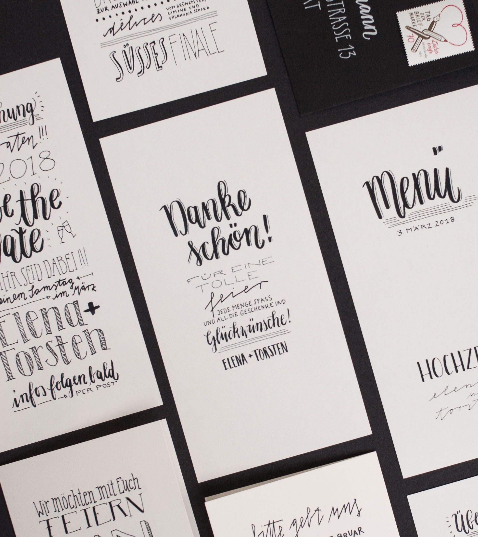 Papeterie Sets Archive Konfettirausch Dankeskarten Papeterie Hochzeit Danke Karte