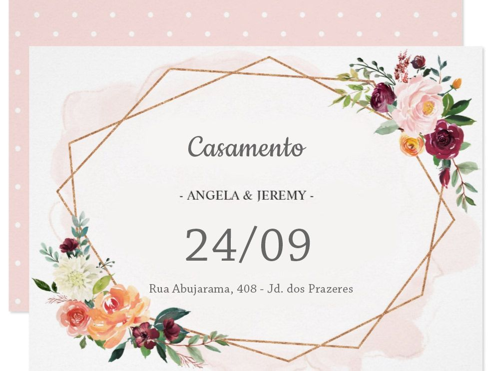 Convites De Casamento 7 Principais Tendencias Para 2018 Com