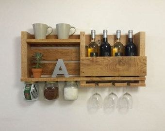 Decorative Wall Wine Rack wine rack, wine rack from wood, wine rack for wall, reclaimed wood