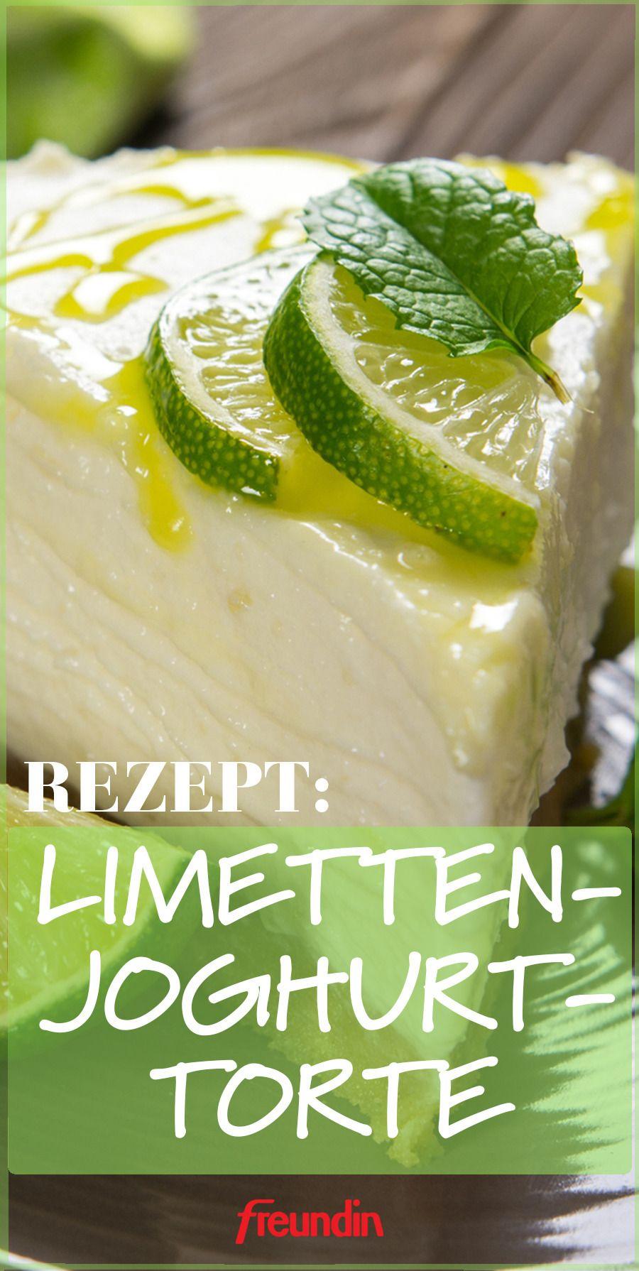 Kühlschrank-Kuchen: Limetten-Joghurt-Torte | freundin.de