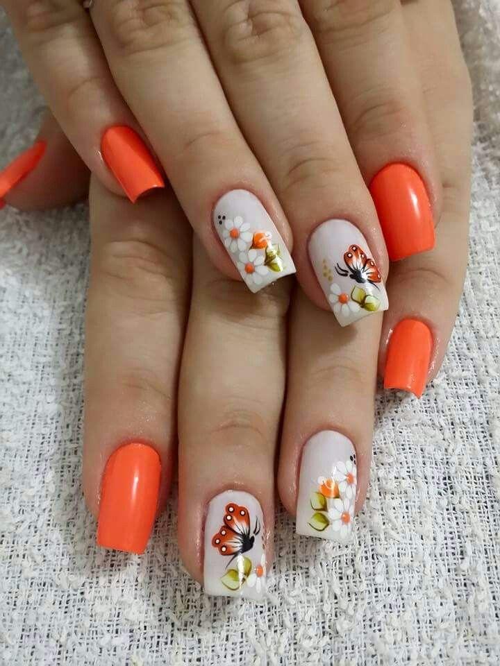 Hermosas ♡ | unhas decoradas mk | Pinterest | Hermosa, Diseños de ...