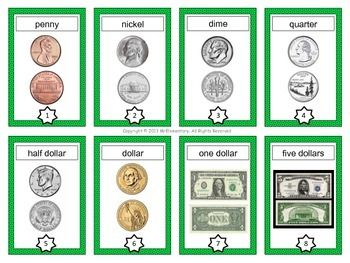 Money Vocabulary Cards - This is a set of 24 money vocabulary cards that you can use to boost student's vocabulary in a math or economics unit dealing with money.