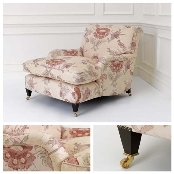 Best Savernake Chair Large Robert Kime Upholstered Furniture 400 x 300