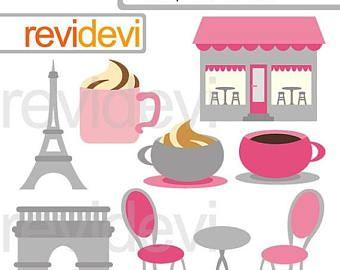 35 off sale pink grey paris cafe clipart oh la la paris digital rh pinterest com Oh Oh Face Clip Art Clip Art Oh My