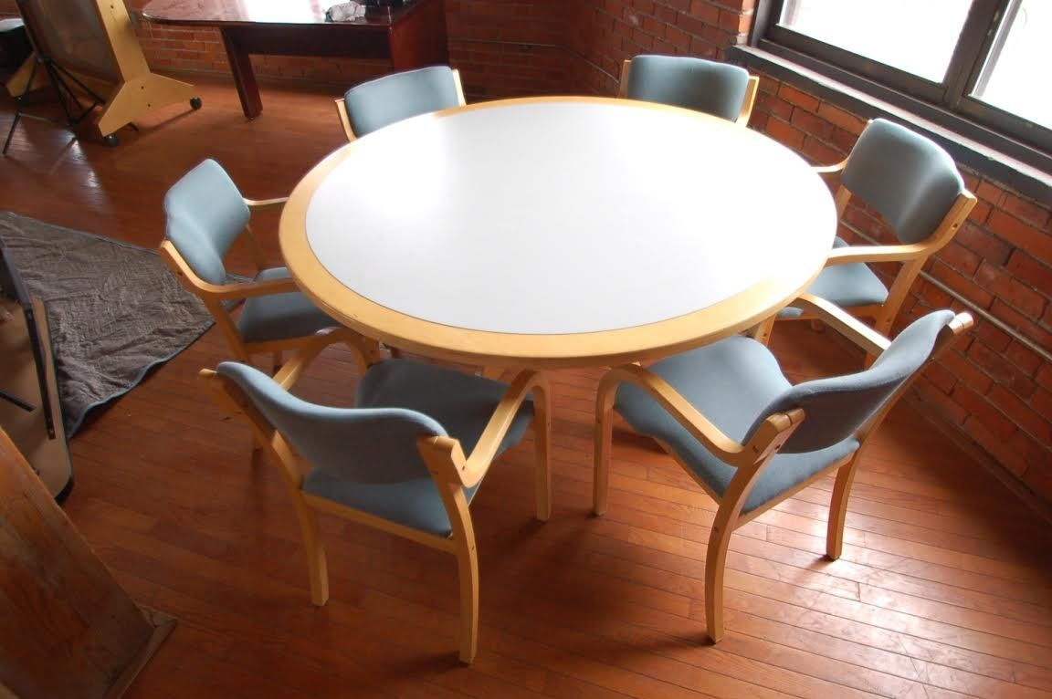 Round Office Table And Chair Sets Httparghartscom Pinterest - Round office table and chair sets