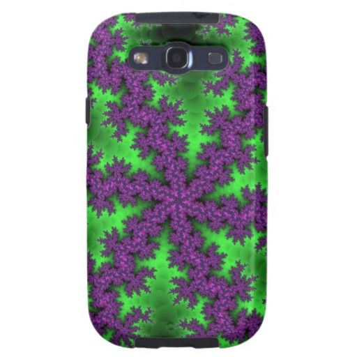 Customizable Grapevine Fractal Samsung Galaxy S3 Case on sale for $44.95 at www.zazzle.com/wonderart* or click on the picture to take you directly to the product.