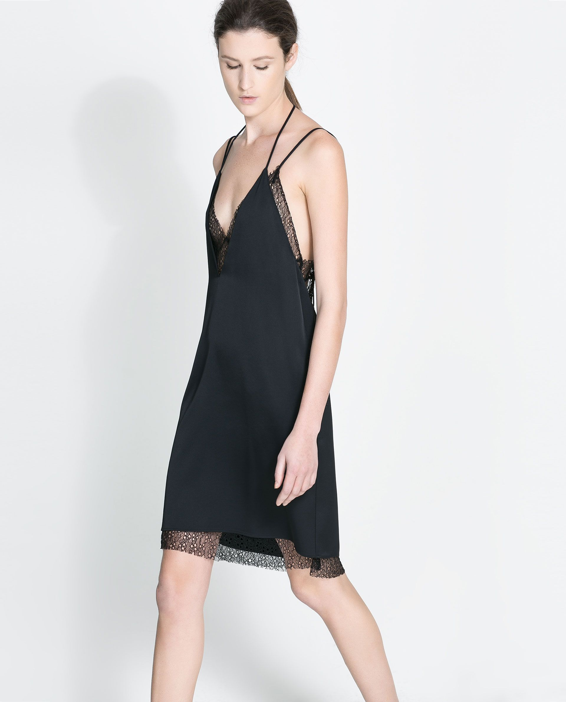 ZARA - WOMAN - STUDIO MESH DRESS | dress ME | Pinterest