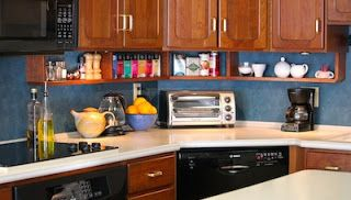 Under Cabinet Shelves I Love This For Our Y Tiny Kitchen Counter E