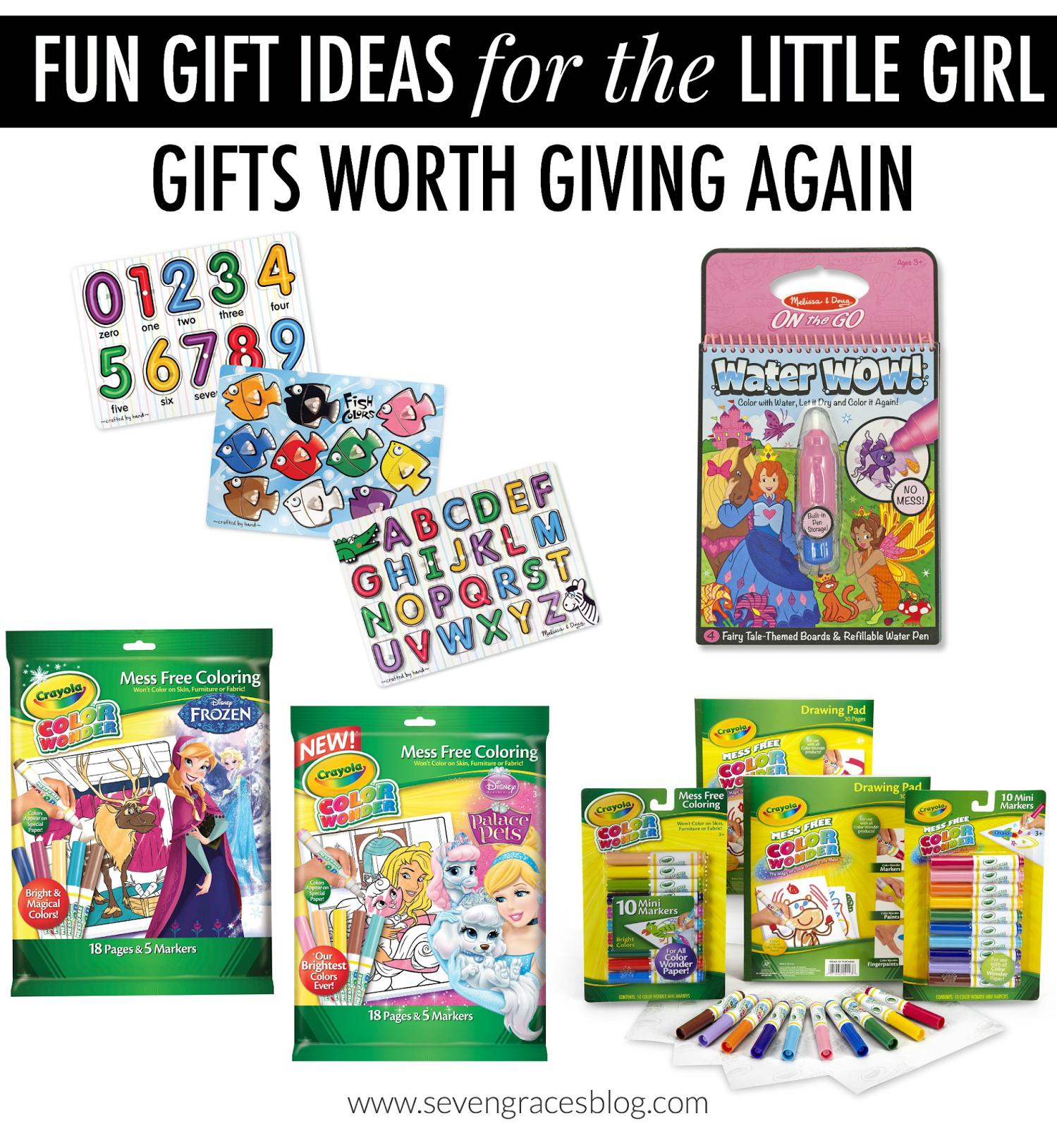Christmas Gift Ideas for the Little Girl