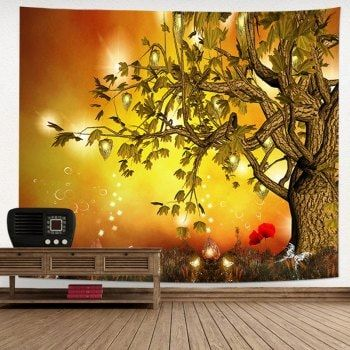 Magic Scenery Print Wall Decor Tapestry | Scenery, Wall decor and ...