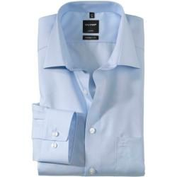 Photo of Olymp Luxor shirt, modern fit, New Kent, blue, 44 Olymp