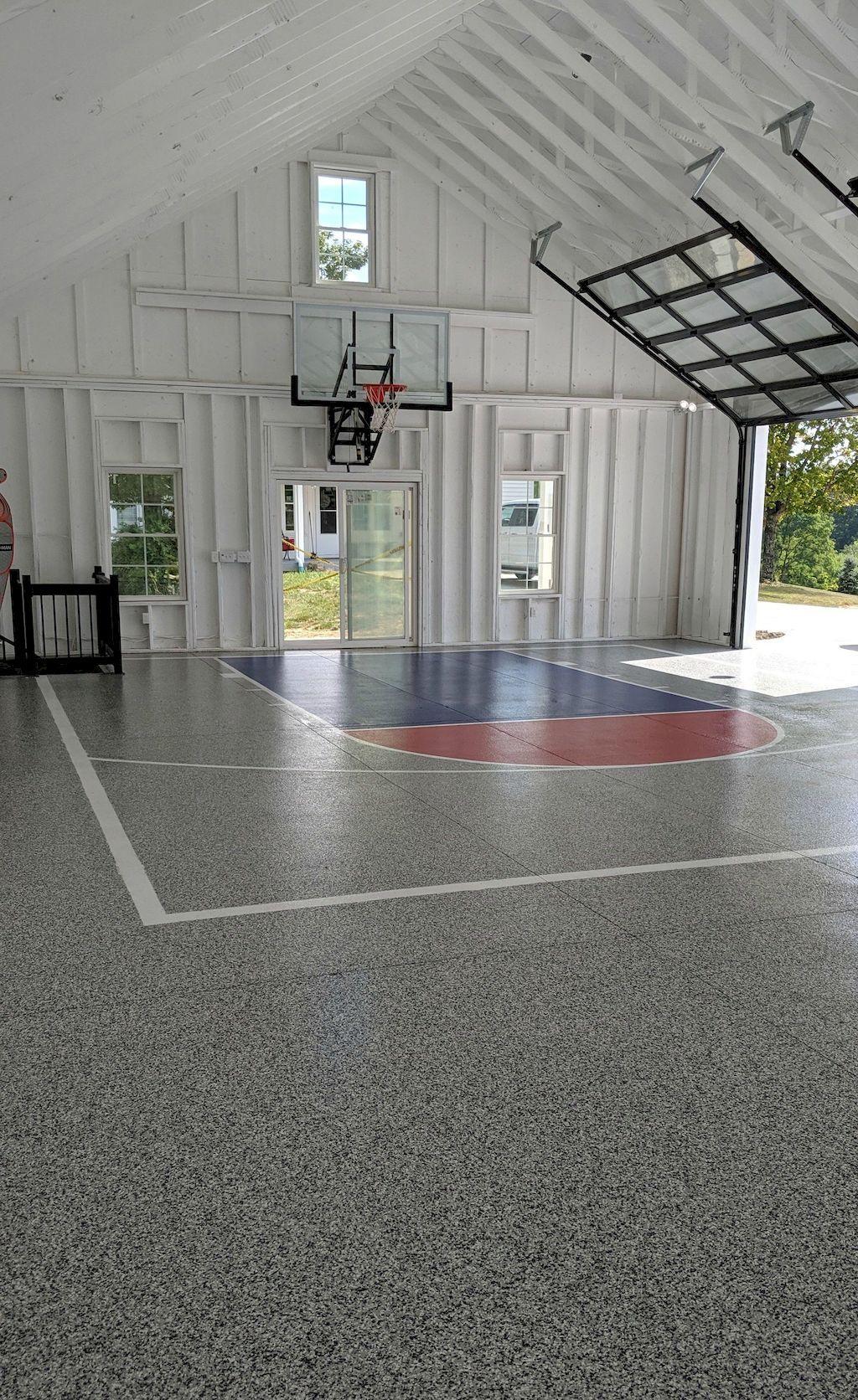 Shocking Best Floor Garage Tiles For Your House In 2020 Home Basketball Court Indoor Basketball Court Indoor Basketball