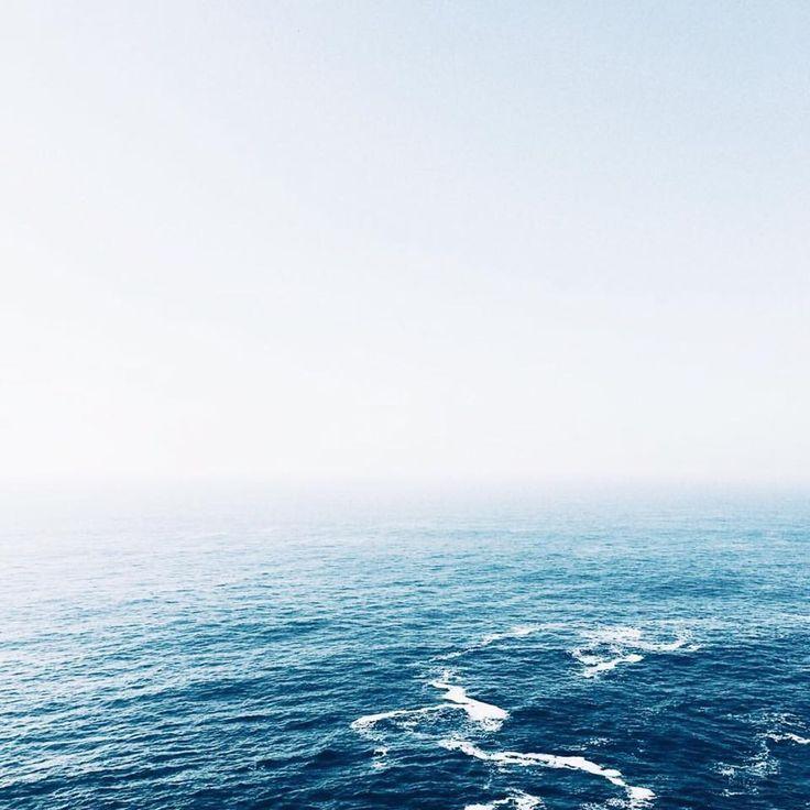 Amazing Ocean View Fading Into The Sky Ocean Nature Ocean View