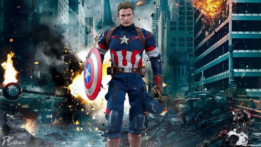 Marvel Captain America Chris Evans The Avengers Age