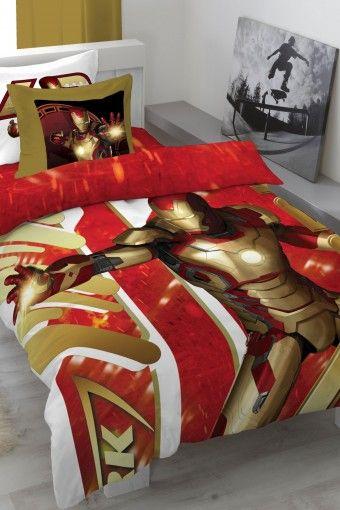 Iron Man Bedding Boys Room Decor Boys Bedroom Themes Avengers Room Decor