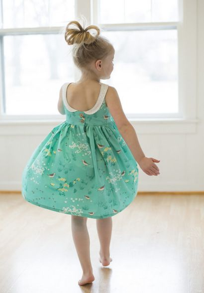 Beautiful, easy and modern child sewing PDF patterns Molly\'s scoop ...
