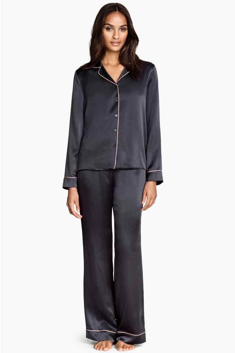 in vendita f7e5e 9efef Pigiama in seta | H&M | fashion shower | Pigiama, Stile di ...