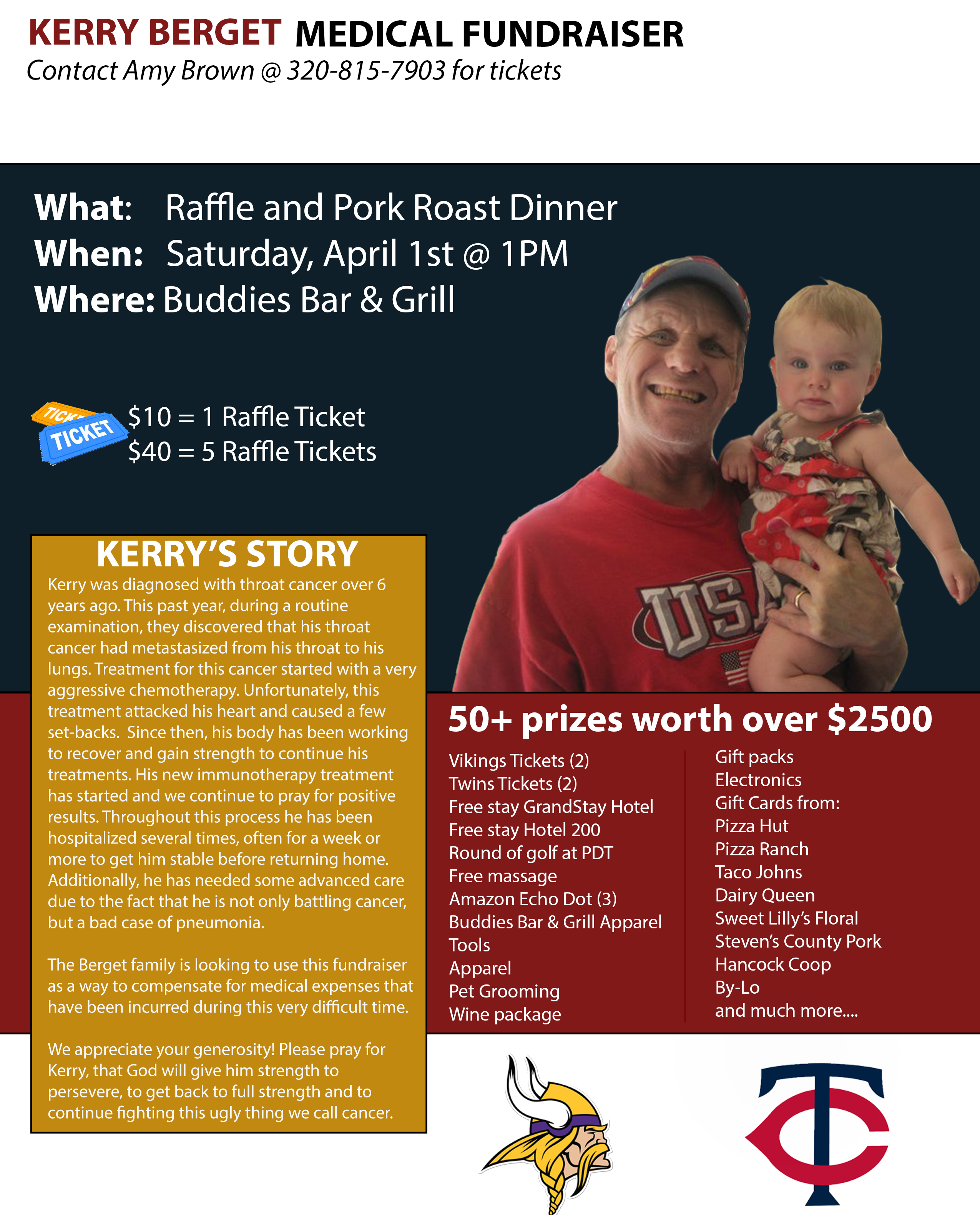 Kerry Berget Medical Fundraiser