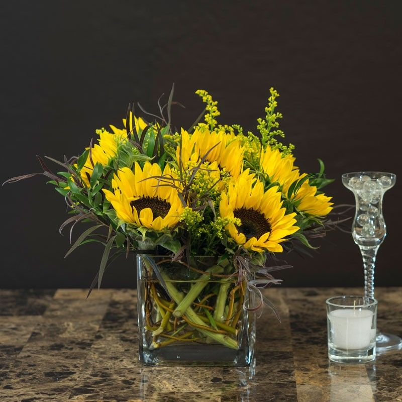 Events Flower delivery, Same day flower delivery, Glass cube
