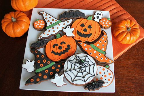 Halloween, pumpkin, and Cookies image AWESOME AUTUMN ~~ A Favorite - halloween pumpkin cookies decorating