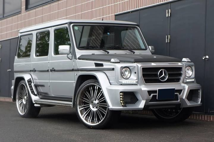 Mercedes Benz G55 Amg Tuned By Wald International Mercedes Benz