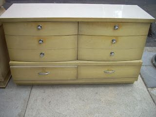 1950 S Blonde Dresser Looks Like My