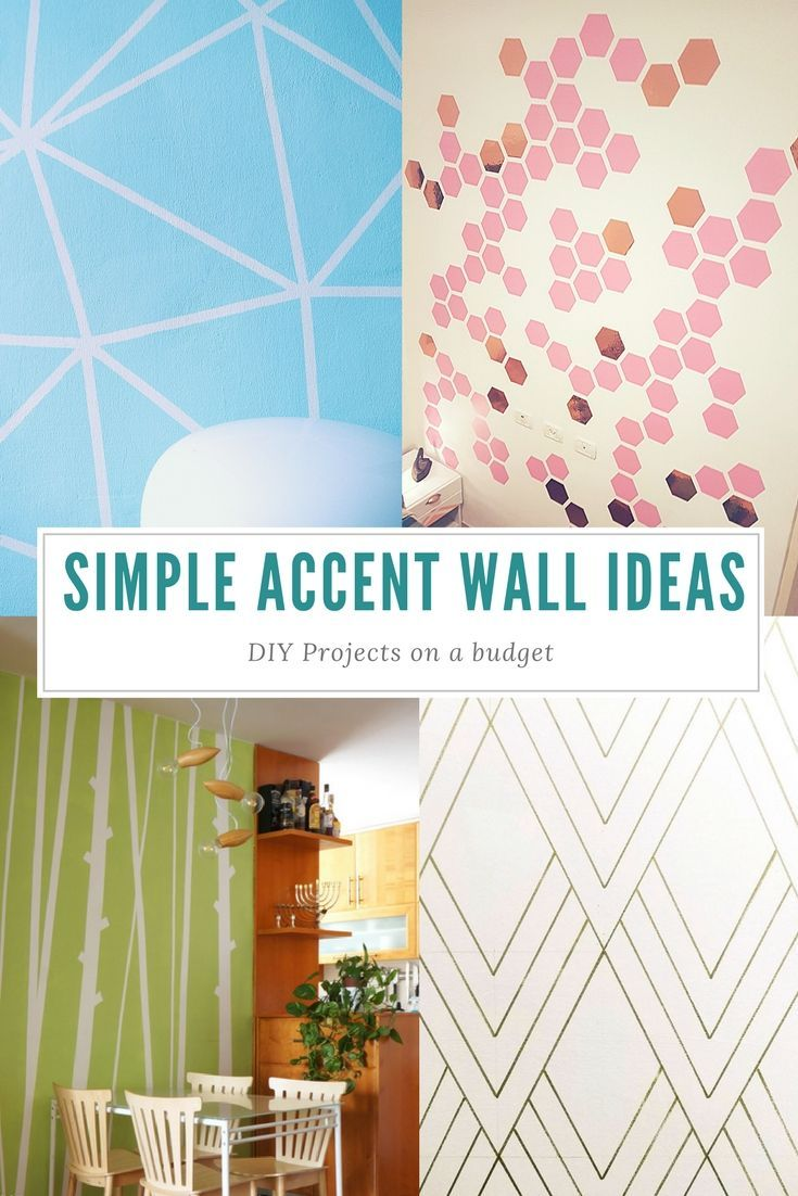 Home Design And Diy On A Budget Diy Accent Wall Handmade Home