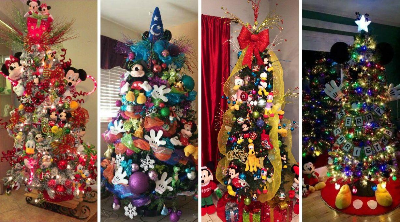 Mickey Mouse Decoracion Navidad Arbol Navideo De Mickey Mouse Y - Decoracion-de-arboles-de-navidad