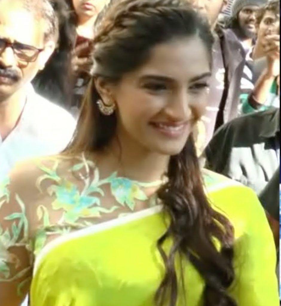 braided-hairdo-for-saree   santosh wedding in 2019   saree
