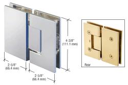 Vct180ch Crl Polished Chrome 180 Degree Glass To Glass Victoria Series Hinge Glass Hinges Shower Door Hardware Frameless Shower Doors Hardware