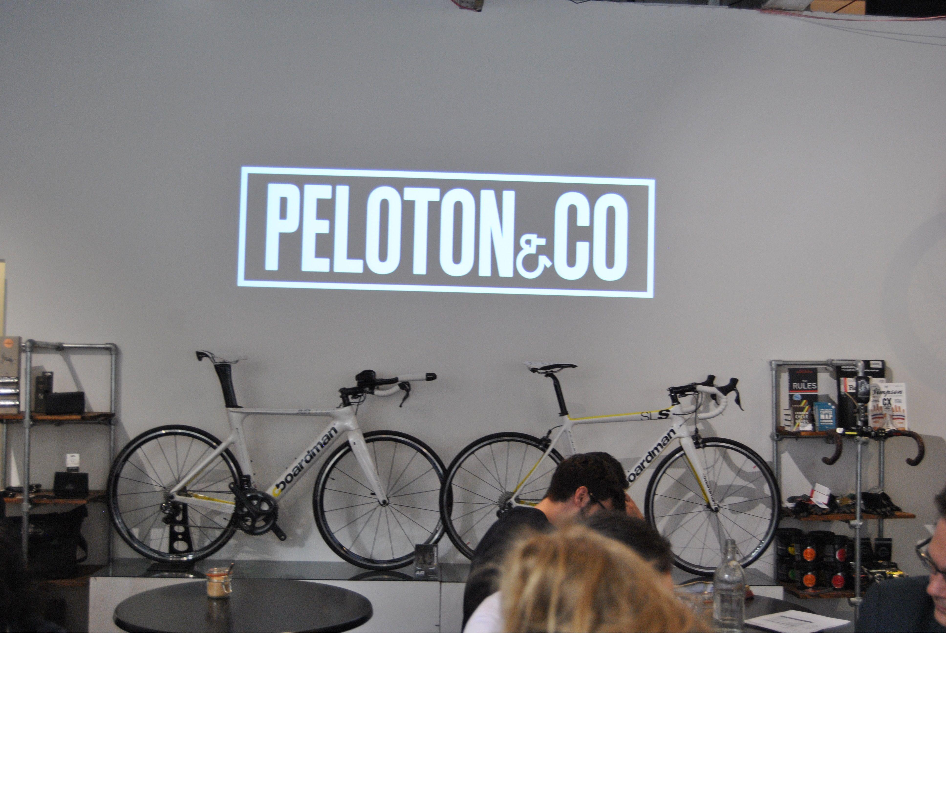 Peloton & Co Bike Cafe!