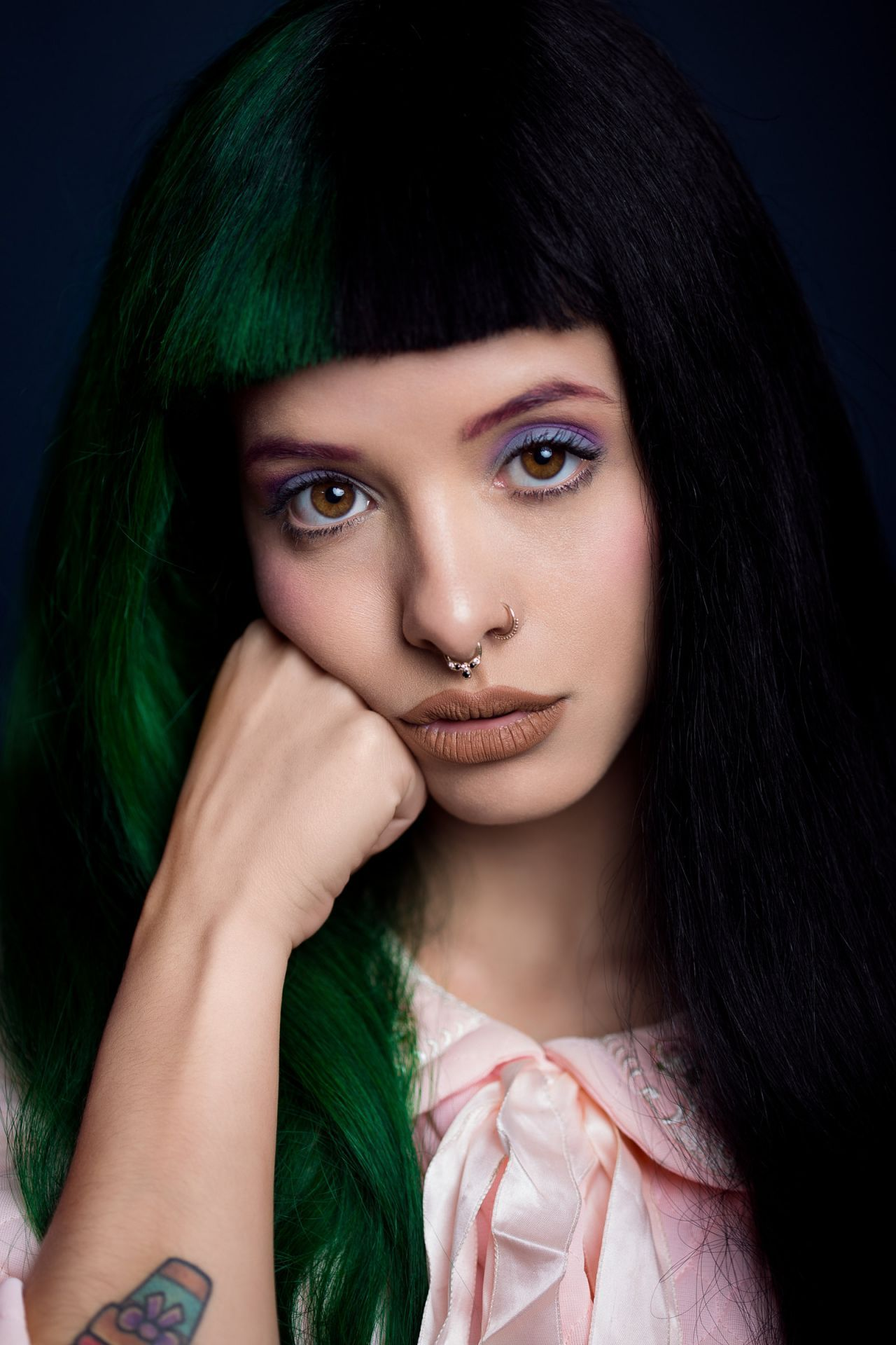 The green hair 🖤🖤 (With images) Melanie martinez