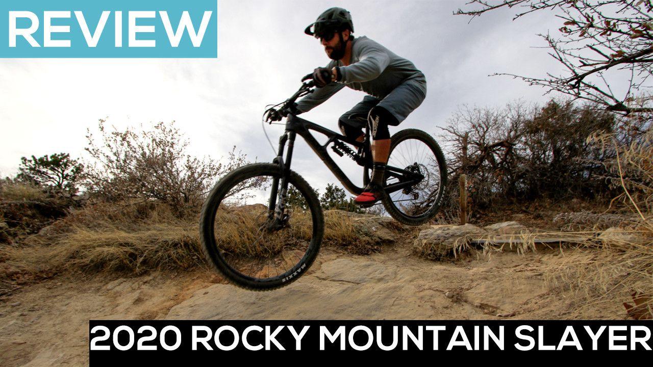 The 2020 Rocky Mountain Slayer Mountain Bike Preys On Gnar Video