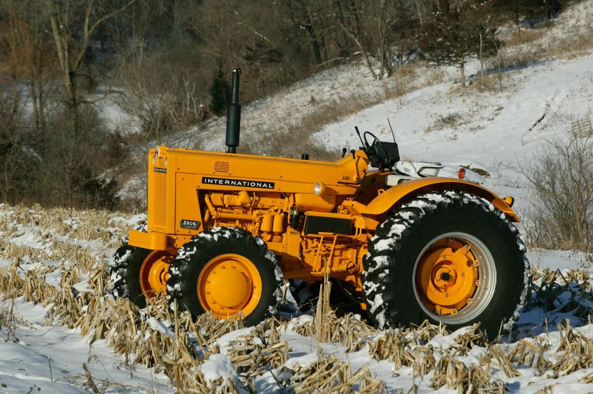 Tractor Of The Week 1964 International 2806 Octane Press