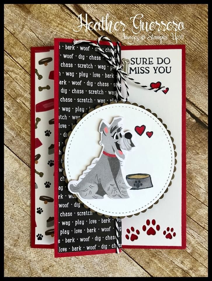 Stampin Up Playful Pets Is A Fun New Suite To Create With In