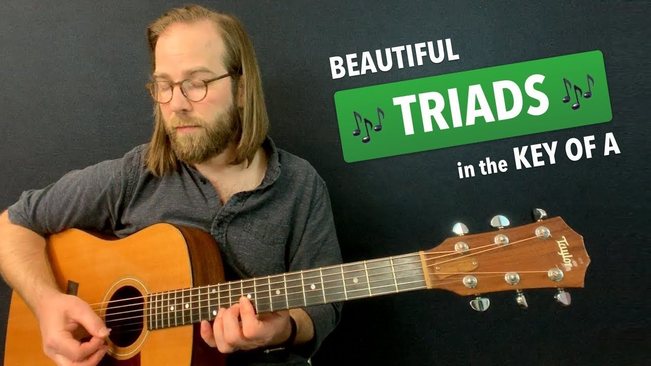 Acoustic Triad Exercises Using A D E Warm Up 17 Youtube Song Notes Guitar Practice Guitar Tips