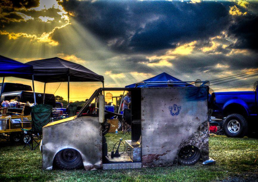 Sick Golf Cart Mini Box Truck Bagged And Bodydropped S 10 Forum Trucks Golf Carts Monster Trucks