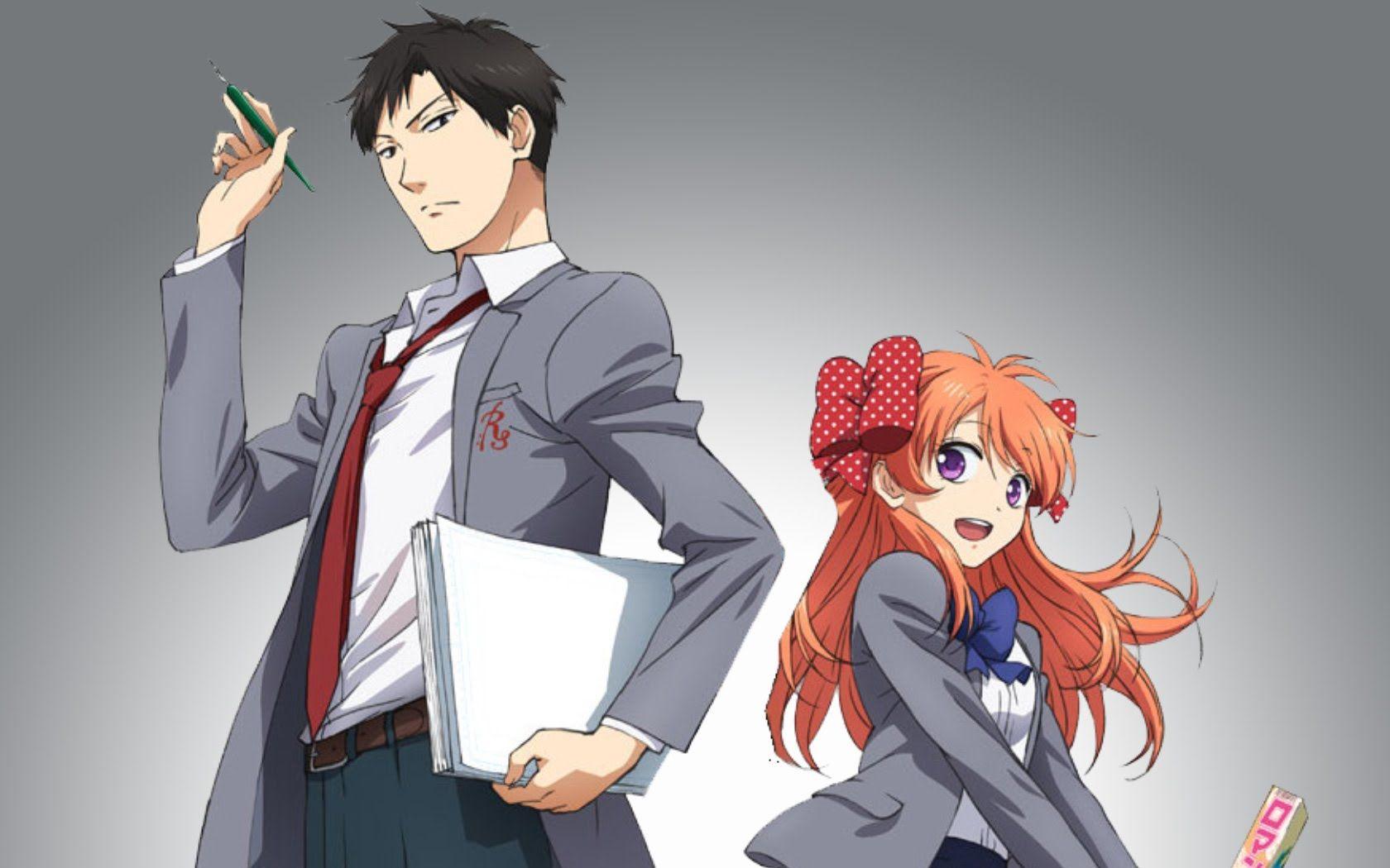 Gr Anime Review Monthly Girls Nozaki Kun Monthly Girls Nozaki