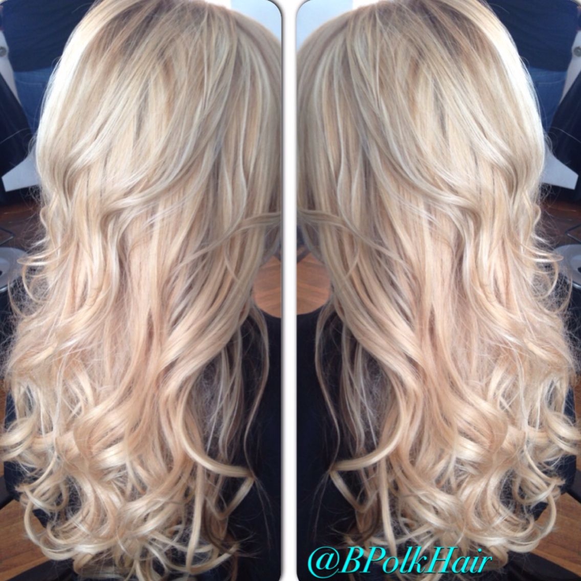 @bpolkhair - Charlotte NC #blonde #curls