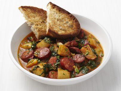 Chorizo-Potato Stew Recipe : Food Network Kitchen : Food Network