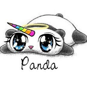 Cute Drawings Panda Rainbow Sweet Unicorn Panda Corn Unicorn Pictures Unicorn Drawing Cute Wallpapers
