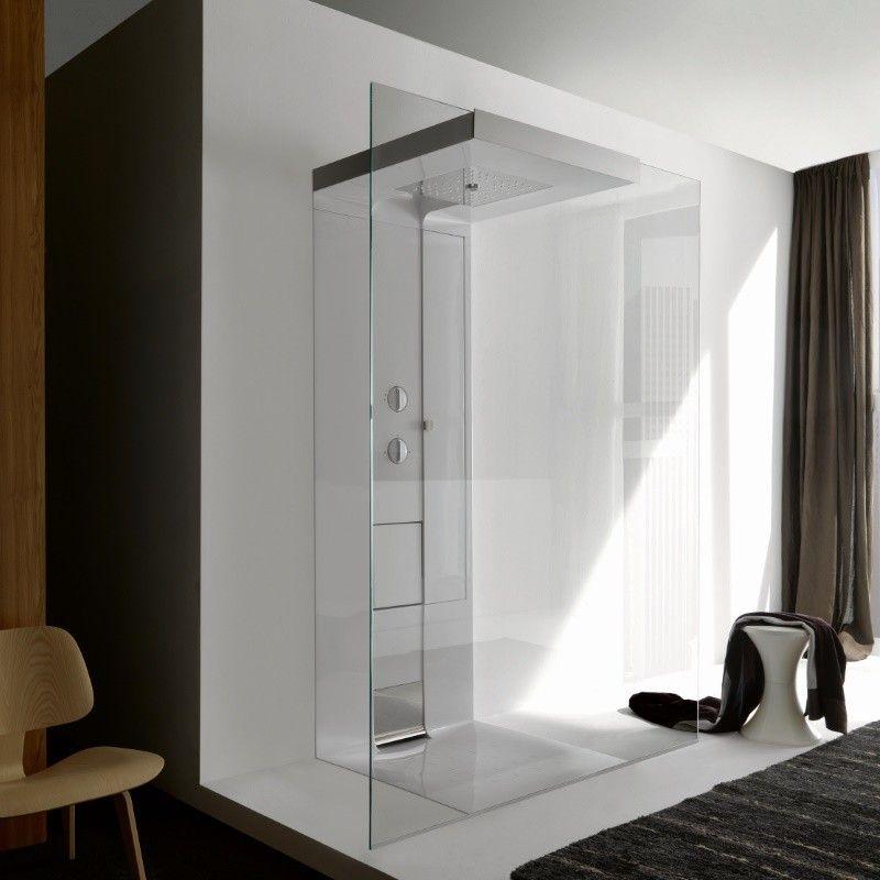 Idea Walk Through Version Rückwand eingebaut Design Marc - dusche strukturwand