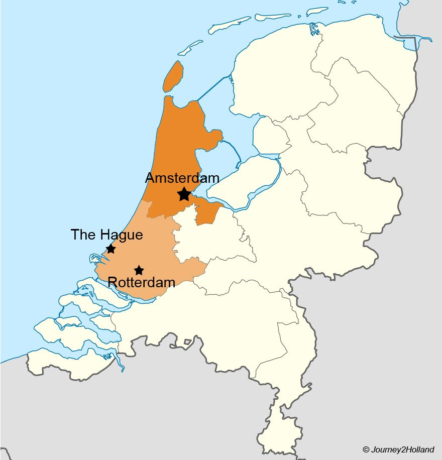 Holland or the Netherlands The official name of the country is