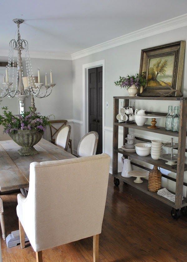 Room Farmhouse Dining Rooms And Zones